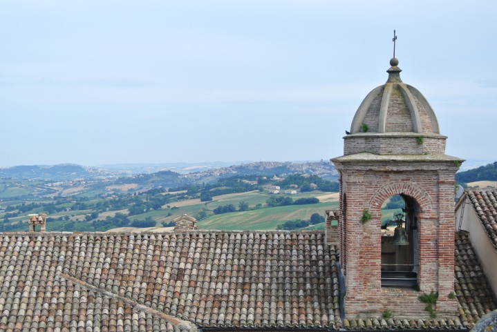 Ofagna, vista verso Osimo