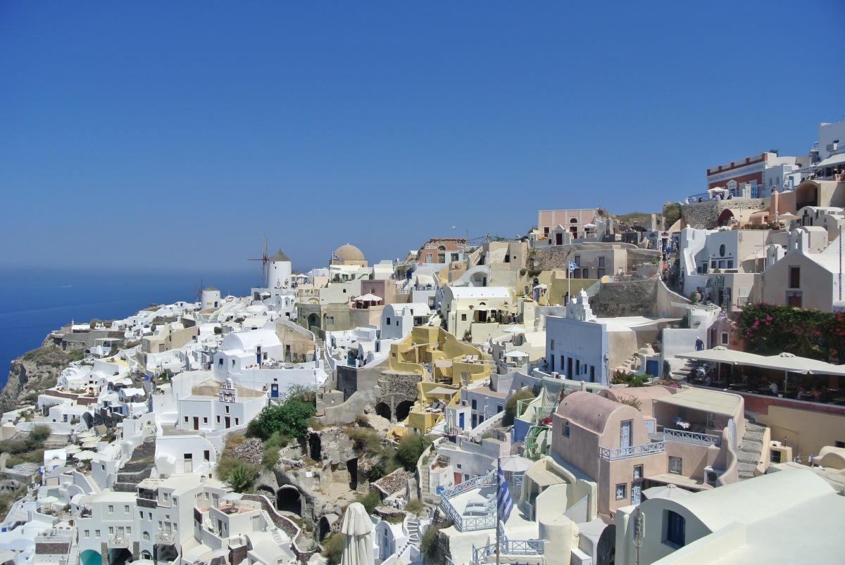 La 'mia' Santorini (ovvero il blu e il bianco di un'isola sospesa nel tempo e nello spazio)